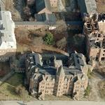 Abandoned Hudson River State Hospital (Birds Eye)
