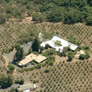 David Packard's House (former) (Birds Eye)
