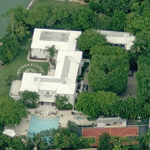 List of celebrity houses in miami