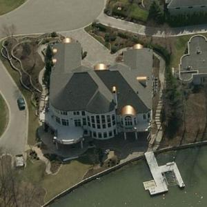 Paul George's House (Birds Eye)