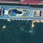 Rescue exercise aboard Costa Concordia