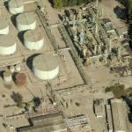 Abandoned Ventura Oil Refinery (Birds Eye)