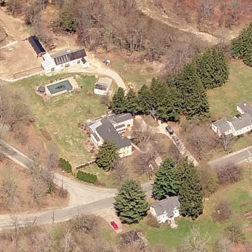 Rachel Maddow's House in Cummington, MA (Google Maps)