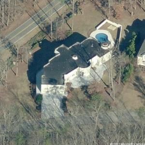 Drug Lord Big Meech's House (former) (Birds Eye)