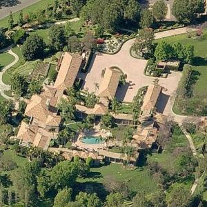 Ray & Joan Kroc's House (McDonald's) (Birds Eye)