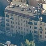 David Bowie and Iggy Pop's Apartments (former) (Birds Eye)