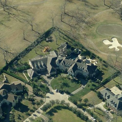 Tracy McGrady's House in Houston, TX (Bing Maps)