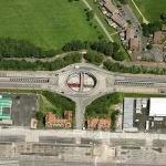 Beckton Park DLR Station (Birds Eye)