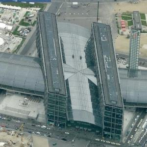 Berlin Central Station (Bing Maps)