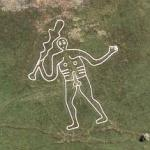 Cerne Abbas Giant (Bing Maps)