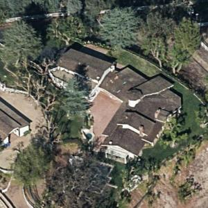 Miley Cyrus' House (Birds Eye)