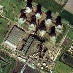Eggborough Power Station (Bing Maps)