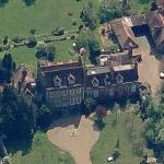 Dame Maggie Smith's House in 'Downton Abbey' (Byfleet Manor) (Birds Eye)