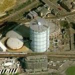 Battersea Gas Holder No 7 (Birds Eye)