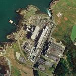 Wylfa nuclear power station (Bing Maps)