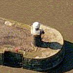 Avonmouth Docks South Pier Lighthouse (Bing Maps)