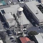 Warner Bros Water Tower (Birds Eye)