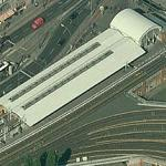 Berlin Warschauer Straße station (Birds Eye)