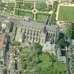 Arundel Cathedral (Birds Eye)