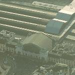 Basel SBB railway station (Birds Eye)
