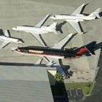 Donald Trump's Jet (Birds Eye)