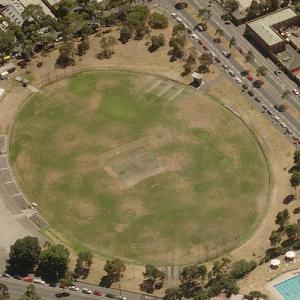 Arden Street Oval (Birds Eye)
