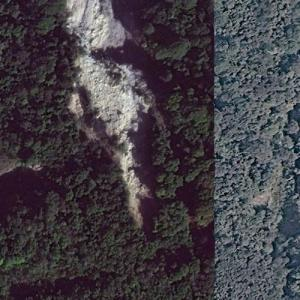 Aviateca Flight 901 crash site (Bing Maps)