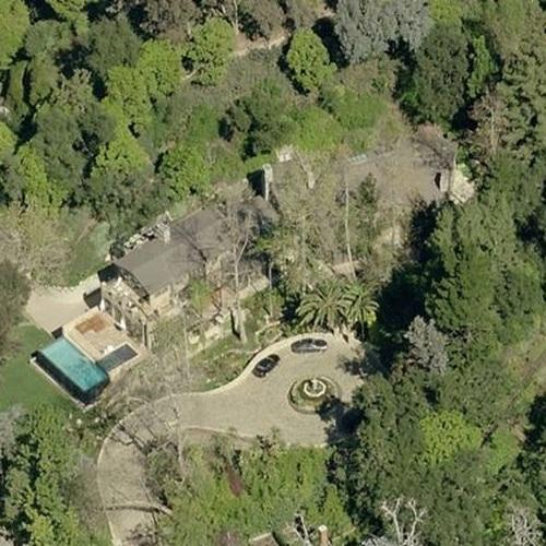Maps of celebrity homes in los angeles