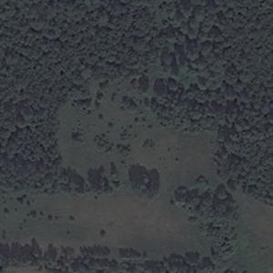 Aeroflot Flight 8641 crash site (Bing Maps)