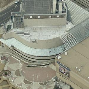 'Denver Performing Arts Complex' by Kevin Roche (Birds Eye)