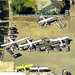 Seaplane and Car Lot (Birds Eye)
