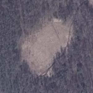Aeroflot Flight 1691 crash site (Bing Maps)
