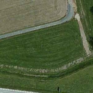 British European Airways Flight 706 crash site (Bing Maps)