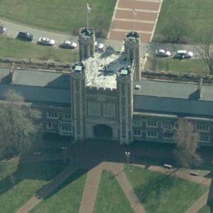 Brookings Hall (Birds Eye)