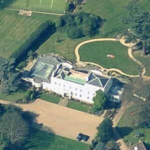 Adrian Newey's House (Birds Eye)