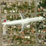 Air Canada Airbus A321-211 in flight