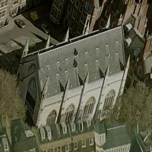 Lincoln's Inn Chapel (Birds Eye)