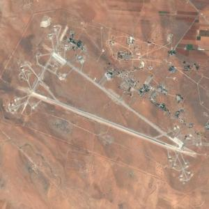 Al Shayrat Air Base (Apr, 2017 U.S. Missile Strike site) (Bing Maps)