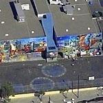 Elaborate Mural in San Francisco (Birds Eye)