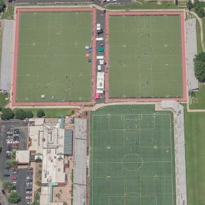 World Wide Technology Soccer Park (Birds Eye)
