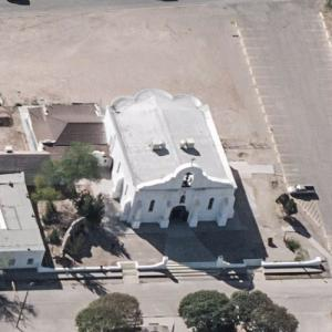 Presidio Chapel of San Elizario (Birds Eye)