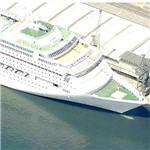P&O Lines ship 'Oriana' (Birds Eye)