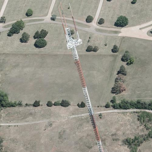 KFOR-TV Tower In Oklahoma City, OK (Bing Maps
