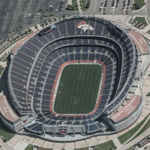 Sports Authority Field at Mile High (Birds Eye)
