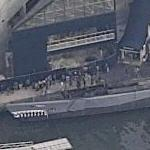 Submarine USS Torsk (Birds Eye)