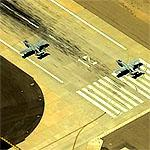 A-10s on takeoff roll (Birds Eye)
