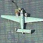 C-60 Lodestar at Rialto Airport (Birds Eye)