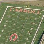 Carroll College - First forward pass in football history (Bing Maps)
