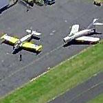 MiG 15 and BAC Jet Provost at Portland Hillsboro Airport (Birds Eye)