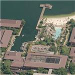 Disney World - Polynesian Resort (Birds Eye)